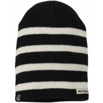 Top of the World トップ オブ ザ ワールド スポーツ用品  Top of the World Michigan Wolverines Womens Navy Rainbow Knit Beanie