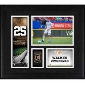 Fanatics Authentic ファナティクス オーセンティック スポーツ用品  Fanatics Authentic Walker Zimmerman LAFC Framed 15 x 17 Player