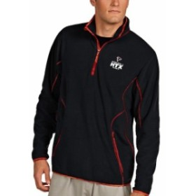 Antigua アンティグア アウターウェア ジャケット/アウター Antigua Atlanta Falcons Black/Red Super Bowl LI Bound Ice Quarter-Zip Ja