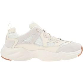 《セール開催中》SKECHERS メンズ スニーカー&テニスシューズ(ローカット) アイボリー 6.5 革 / 紡績繊維 STAMINA AIRY