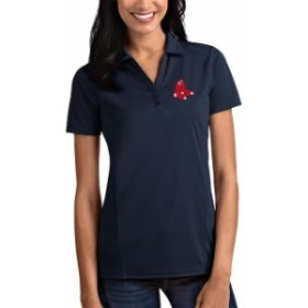 Antigua アンティグア スポーツ用品  Boston Red Sox Antigua Womens Tribute Polo - Navy