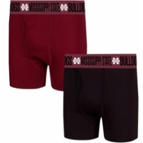 Concepts Sport コンセプト スポーツ スポーツ用品  Concepts Sport Mississippi State Bulldogs Maroon/Black Duo Boxer Briefs