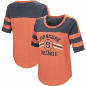 Colosseum コロセウム スポーツ用品  Colosseum Syracuse Orange Womens Orange Exaaactly! Half-Sleeve T-Shirt
