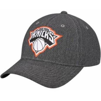 Mitchell & Ness ミッチェル アンド ネス スポーツ用品  Mitchell & Ness New York Knicks Black Melange Spandex Snapback Adjustable H