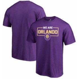 Fanatics Branded ファナティクス ブランド スポーツ用品  Fanatics Branded Orlando City SC Purple We Are T-Shirt