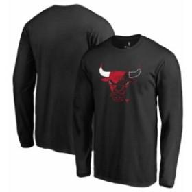 Fanatics Branded ファナティクス ブランド スポーツ用品  Fanatics Branded Chicago Bulls Black X-Ray Long Sleeve T-Shirt