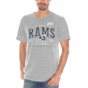 Hands High ハンズ ハイ スポーツ用品  Los Angeles Rams Gray 100th Season Champsionship Tri-Blend T-Shirt