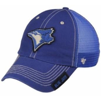 47 フォーティーセブン スポーツ用品  47 Toronto Blue Jays Royal Turner Clean-Up Adjustable Hat