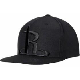Mitchell & Ness ミッチェル アンド ネス スポーツ用品  Mitchell & Ness Houston Rockets Black Cropped XL Logo Snapback Adjustable H