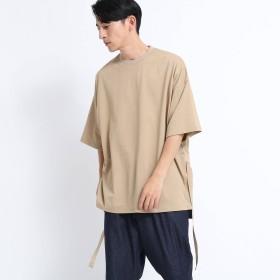 tk.TAKEO KIKUCHI(ティーケー タケオキクチ:メンズ)/ストリングスナップスリットBIGTシャツ