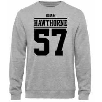 NFL Pro Line by Fanatics Branded エヌエフエル プロ ライン スポーツ用品  David Hawthorne NFLPA Player Issued Sweatshirt - Ash