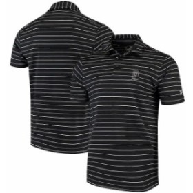Under Armour アンダー アーマー スポーツ用品  Under Armour TPC Sawgrass Black Performance Stripe 2.0 Polo