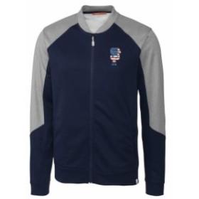 Cutter & Buck カッター アンド バック アウターウェア ジャケット/アウター Cutter & Buck San Francisco Giants Navy Stars & Stripes