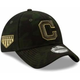 New Era ニュー エラ スポーツ用品  Cleveland Indians New Era 2019 MLB Armed Forces Day 9TWENTY Adjustable Hat - Camo