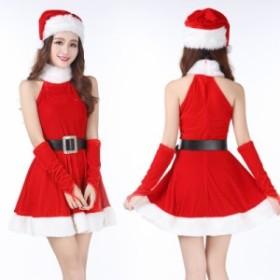 サンタ コスプレ クリスマス 衣装 サンタ コスチューム レディース サンタコス 女子 セクシー ワンピース