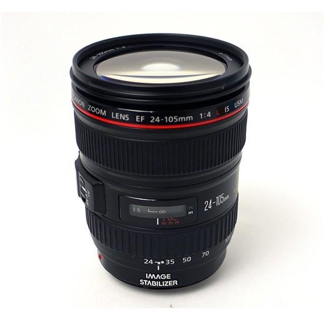 【キャッシュレスで5%還元】【中古】Canon ズームレンズ EF24-105mm F4L IS USM