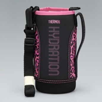 【小型宅配便(定形外郵便)対応可能】THERMOS(サーモス) 真空断熱スポーツボトル FFZ-800Fハンディポーチ ブラックピンク 部品コード: