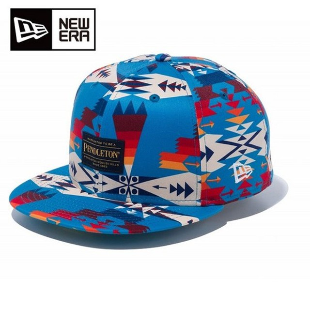 ニューエラ NEW ERA キャップ 帽子 メンズ レディース 59FIFTY PENDLETON ペンドルトン ターコイズ 12109070
