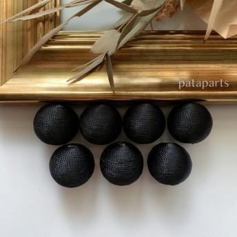 4pcs)black)M size)糸巻きビーズ#