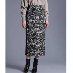 INED / イネド 《Luftrobe》ジャガードタイトスカート