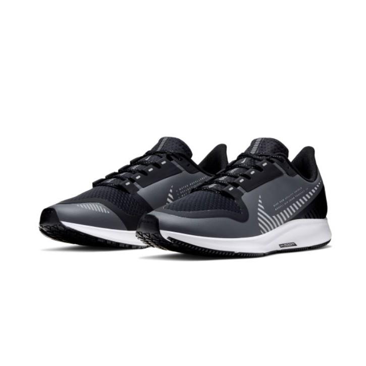 NIKE系列-AIR ZOOM PEGASUS 36 SHIELD 男款灰黑色運動慢跑鞋-NO.AQ8005003