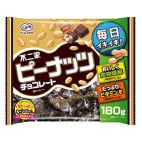 不二家 ピーナッツチョコレート 180g 1袋
