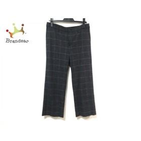 マッキントッシュ MACKINTOSH パンツ サイズ40 M レディース 美品 ダークグレー チェック柄 新着 20191018