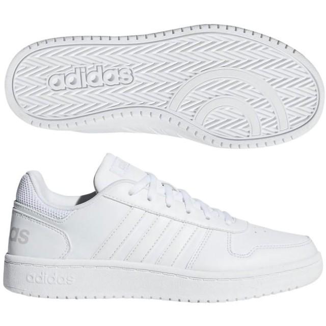 アディダス (adidas) レディース ADIHOOPS 2.0 W(ランニングホワイト×ランニングホワイト) B42096 [分類:レディースファッション スニーカー ローカット]