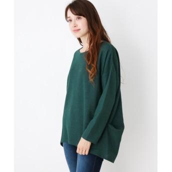 SHOO・LA・RUE(シューラルー) 裾タックラメ入りプルオーバー
