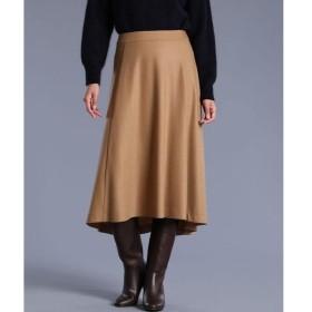 INED L / イネド(エルサイズ) 《大きいサイズ》ウールフレアスカート