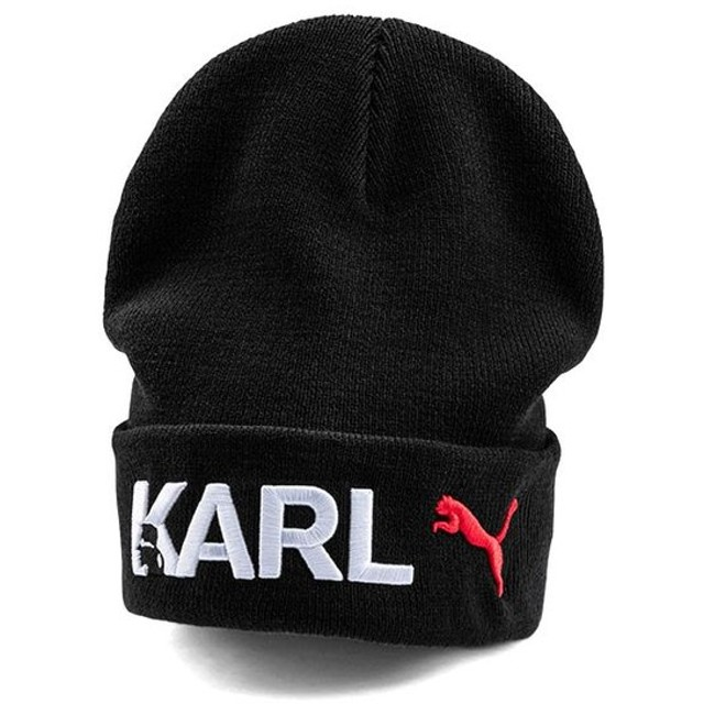 PUMA x KARL LAGERFELD プーマ × カールラガーフェルド ビーニー 22421 ニット帽 キャップ メンズ レディース