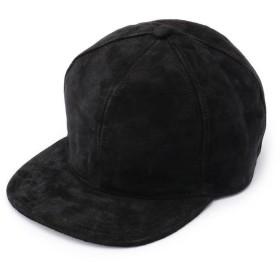 ショット SUEDE BASEBALL CAP/スエード ベースボール キャップ メンズ BLACK F 【Schott】