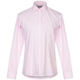 《期間限定セール開催中!》DANIELE ALESSANDRINI HOMME メンズ シャツ ピンク 40 コットン 72% / ナイロン 25% / ポリウレタン 3%