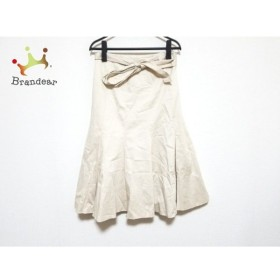 ジユウク 自由区/jiyuku スカート サイズ36 S レディース 美品 アイボリー   スペシャル特価 20200119