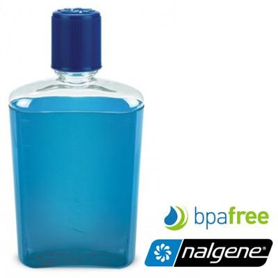 【Nalgene 美國】FLASK 攜帶型酒壼 隨身酒壼 350ml 藍色 (2181-0007)