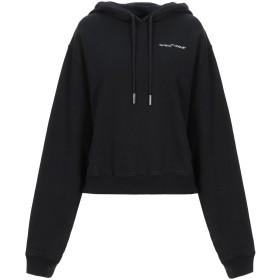 《セール開催中》OFF-WHITE レディース スウェットシャツ ブラック XS コットン 100% / レーヨン