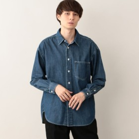 SALE【エムピー ストア(MP STORE)】 デニムオーバーシャツ デニムオーバーシャツ ブルー