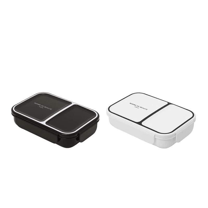巴黎系列輕食餐盒700ML(兩色可選) 巴黎系列輕食餐盒700ML  古典黑