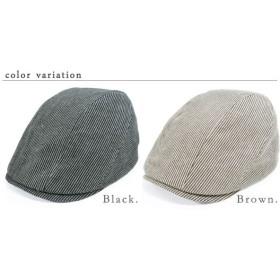 QUEENHEAD クイーンヘッド 帽子 レディース 大きいサイズ  3サイズストライプハンチング 日よけ