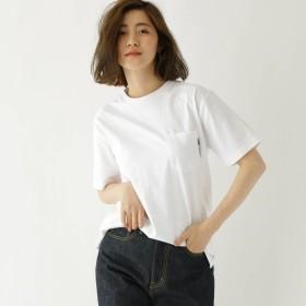 BASE CONTROL LADYS(ベースステーション:レディース)/ヘビーウェイト Tシャツ クルーネック ポケット 半袖Tシャツ