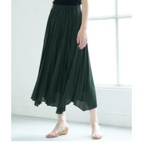 【ROPE' PICNIC:スカート】カットプリーツスカート