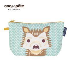 COQENPATE  法國有機棉無毒環保化妝包 / 筆袋- 畫筆兒的家 - 刺蝟