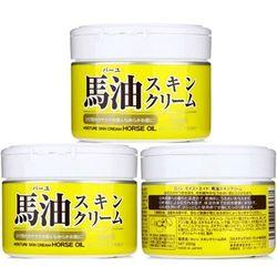 【日本Loshi 馬油】天然潤膚乳液/霜 220gx3入組