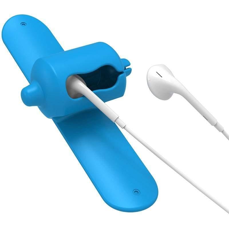 SNAPPY 2.0 耳機收納捲線器 - 共3色 晴空藍