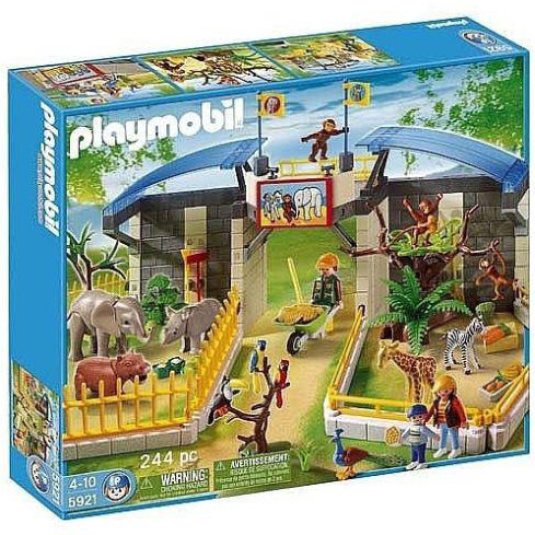 Playmobil 摩比 5921 動物園