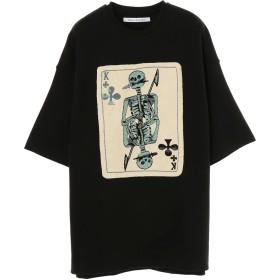 Children of the discordance Children of the discordance / チルドレンオブザディスコーダンス OVERSIZED EMBROIDERY TEE Tシャツ・カットソー,BLACK