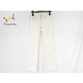 ディーゼル DIESEL パンツ サイズ24 レディース 美品 白 ストレッチ/ダメージ加工/DIESEL  値下げ 20200121