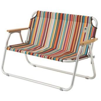 #73173082 NEOS チェアFOR2-ST オレンジストライプ (HN10693610) 【 椅子 折りたたみ 】