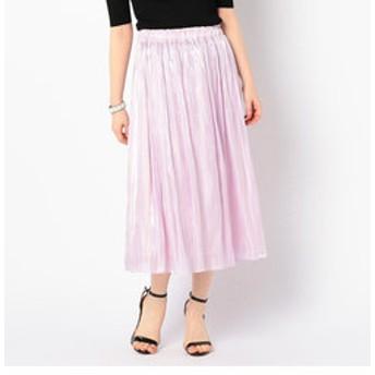 新規会員登録で3,000円OFF!【NOLLEY'S:スカート】【WEB限定色】パールサテンギャザースカート