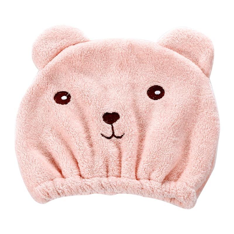 創意卡通浴帽超強吸水速干包頭巾浴室可愛動物成人加厚擦頭干發帽